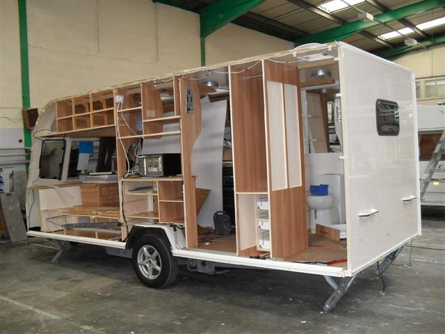 Bailey Alutech Caravan Repairs Crossleys