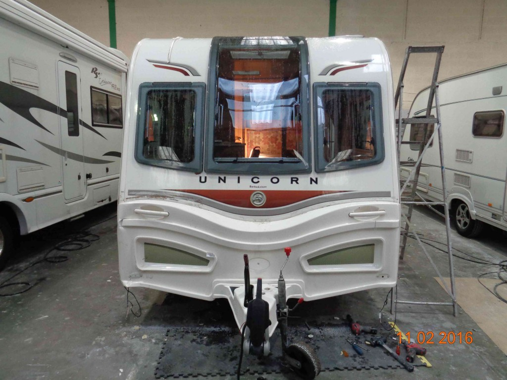 Bailey Alutech Caravan Repairs | Crossleys